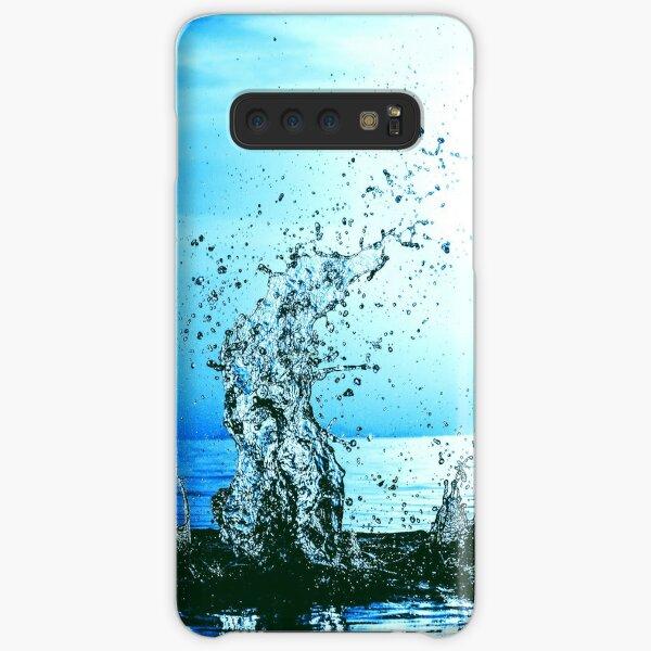 Blue water splash Samsung Galaxy Snap Case