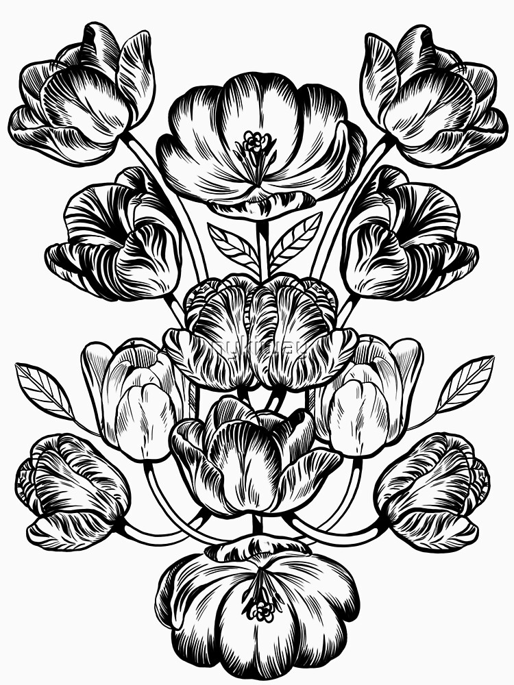 Graphic Botanicals by nykiway