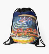 Zipper Drawstring Bag