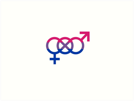 Bisexual pride symbols