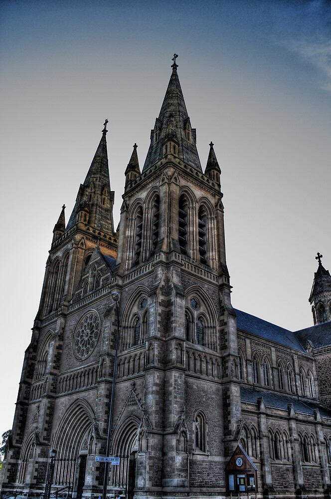 HDR st peters cathedral 2 by Cale Bowick