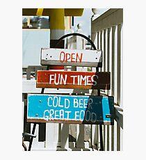 Fun Times Photographic Print
