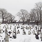 Cemetery in the Snow by Ethna Gillespie