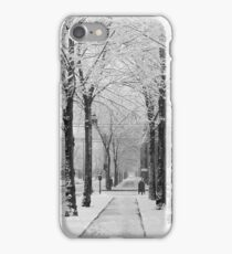 Winter Street Scene, 1910 iPhone Case/Skin