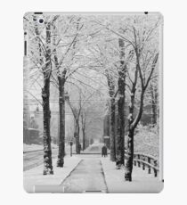 Winter Street Scene, 1910 iPad Case/Skin