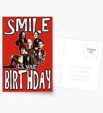 Happy Birthday Shadows Vampires Postcards