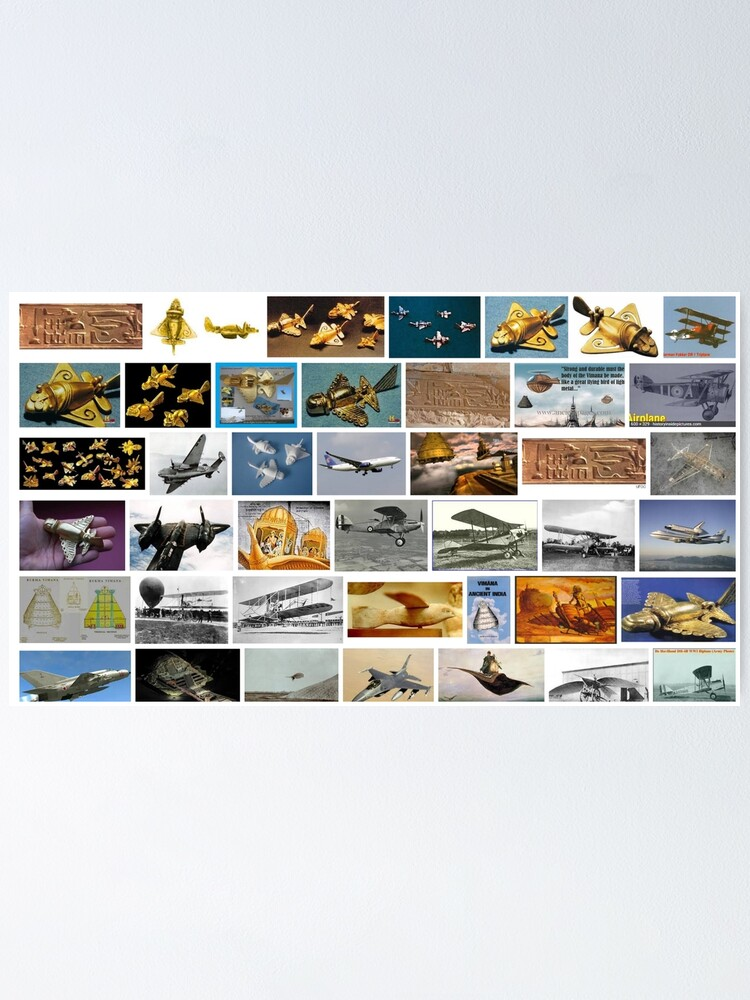 Alternate view of Ancient Aeroplanes Poster