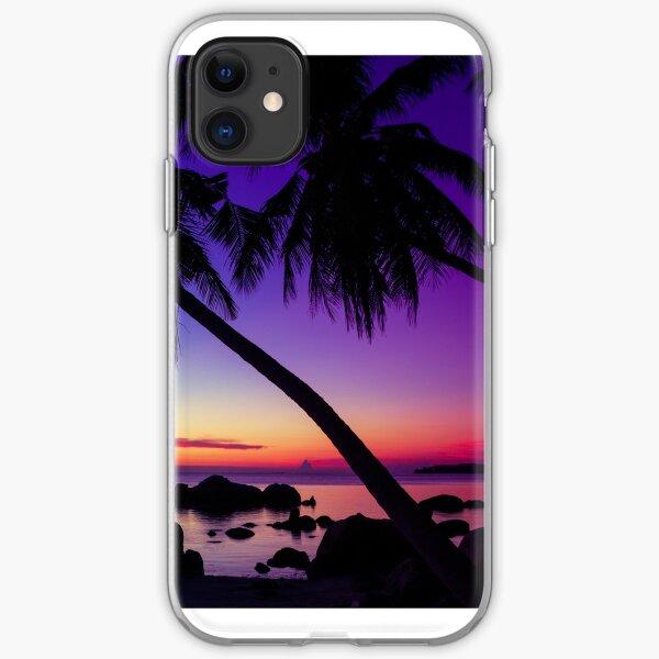 Fantasy sunset landscape Thailand iPhone Soft Case