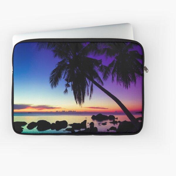 Fantasy sunset landscape Thailand Laptop Sleeve