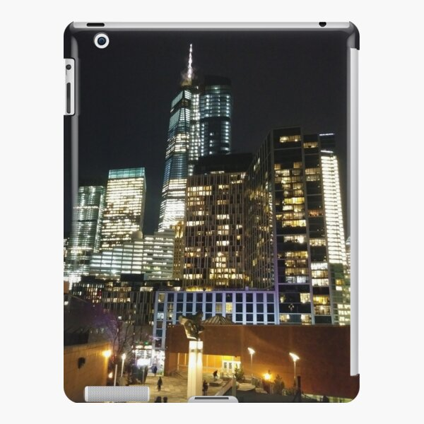 Street, City, Buildings, Photo, Day, Trees, New York, Manhattan, Brooklyn iPad Snap Case
