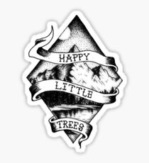 Happy Little Trees (Bob Ross design) Sticker