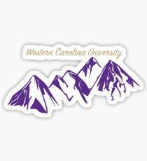 Western Carolina University Sticker
