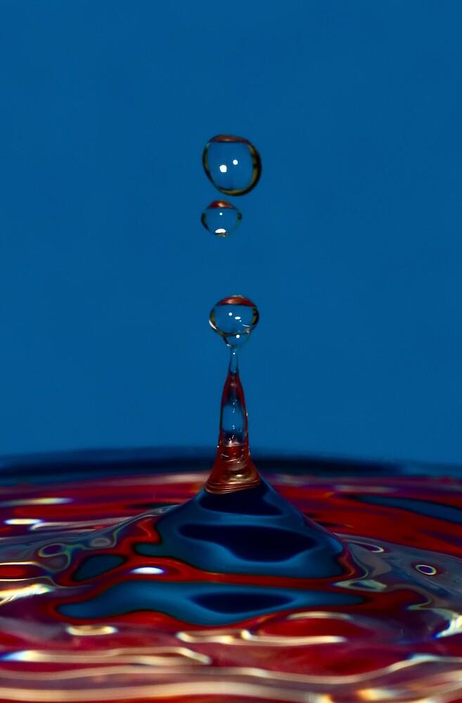 Blue Water by Carol Saunders