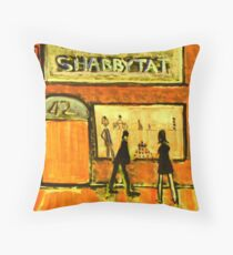 Shabbytat Throw Pillow