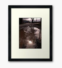 In another world Framed Print