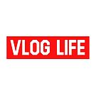 Vlog Life Red - box logo by Wave Lords United