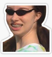 Take on Me vine Sticker