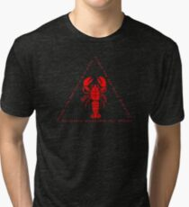 Ascend the Dominance Hierarchy Jordan Peterson Lobster Tri-blend T-Shirt