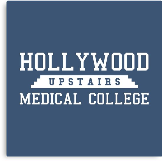 Hollywood Upstairs Medical College by See My Shirt