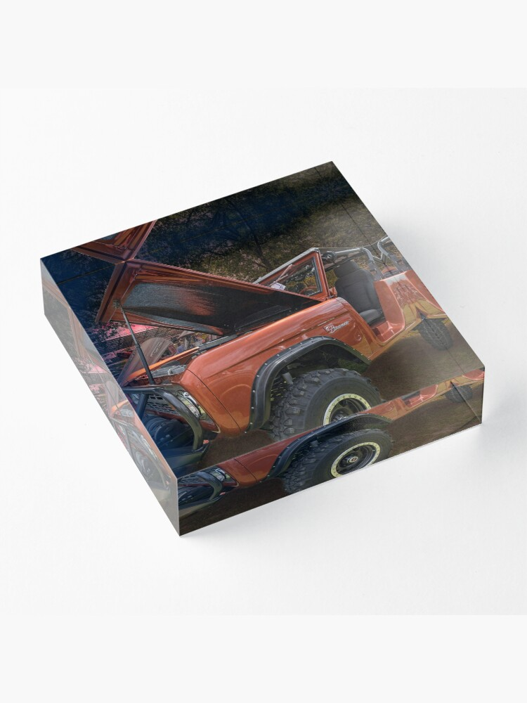 Alternate view of Ford Bronco Acrylic Block