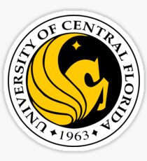 ucf- university of central florida Sticker