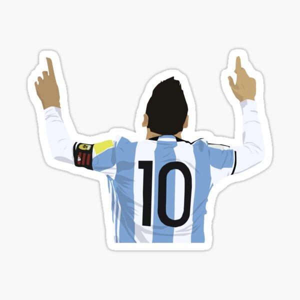 Pegatina Lionel Messi Pegatina