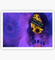 """Don't call me Nymphadora"" Sticker"