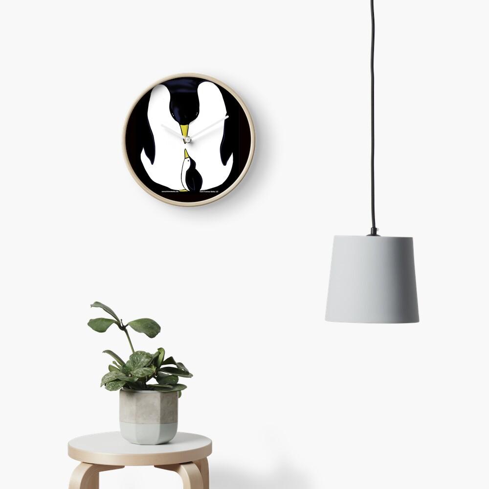 Penguin Love Clock