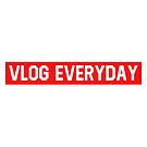 Vlog Everyday red bogo by Wave Lords United
