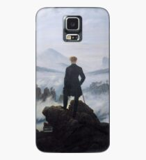 Wanderer above the Sea of Fog Case/Skin for Samsung Galaxy