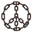 Chain Peace Sign by SpikeysStudio