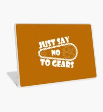 Just Say No To Gears Laptop Skin