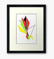 kite fight Framed Print