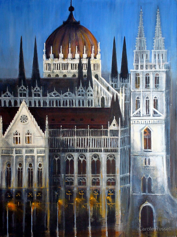 Budapest by Carole Russell