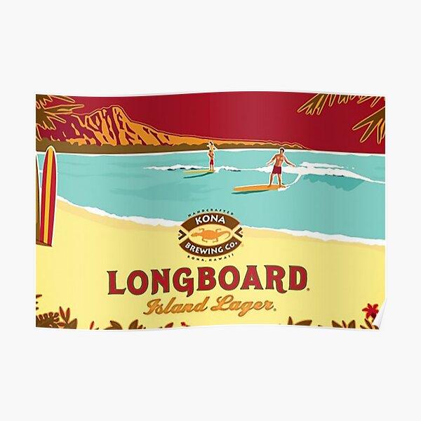 Kona Longboard Poster