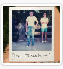 Stand By Me Polaroid Sticker
