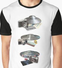 Throwing hubcaps Graphic T-Shirt