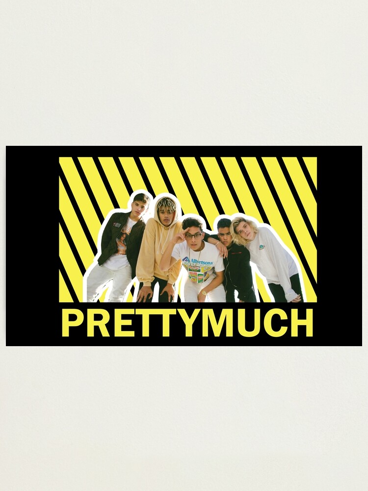 Alternate view of PRETTYMUCH Photographic Print