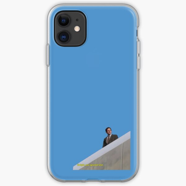 the office quote - dwight you ignorant slut iPhone Soft Case