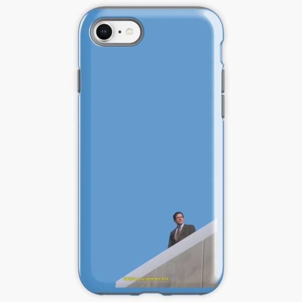 the office quote - dwight you ignorant slut iPhone Tough Case