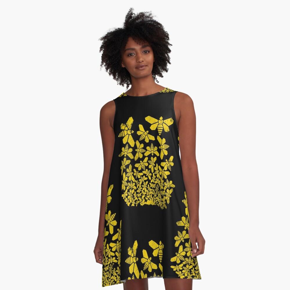 Escher brechen A-Linien Kleid
