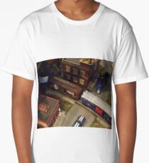 Model Trains, Model Buildings, New York City Long T-Shirt
