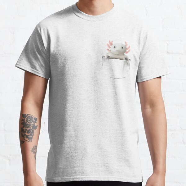 Axolotl In Your Pocket Classic T-Shirt