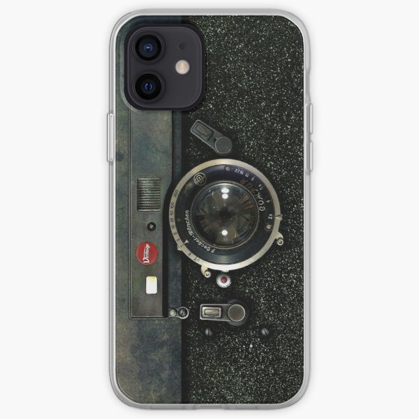 Classic Retro Old Vintage Army looks Rusty Camera iPhone Soft Case