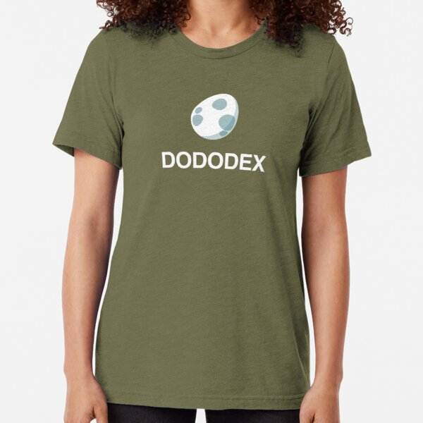 Dododex Logo (Taming Calculator for Ark: Survival Evolved) Tri-blend T-Shirt