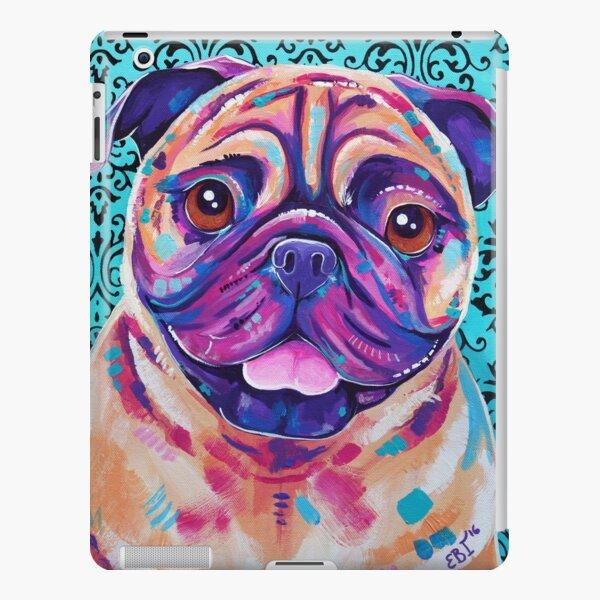 Billy - Tan Pug Dog artwork iPad Snap Case