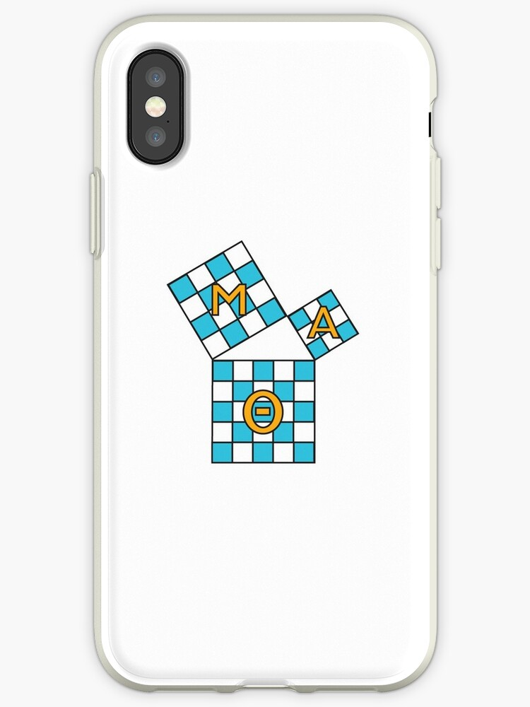 Mu Alpha Theta Math Iphone Cases Covers By Oof K Redbubble