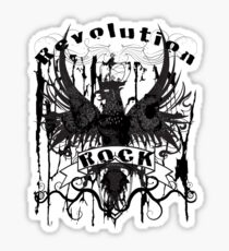 Rock Revolution Sticker
