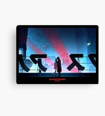 Blade Runner 2049 auf dem Dach Leinwanddruck