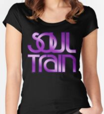 Soul Train Women's Fitted Scoop T-Shirt